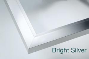 Bright Silver finish sample image