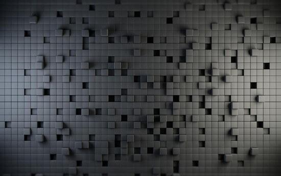 3D tiles pattern
