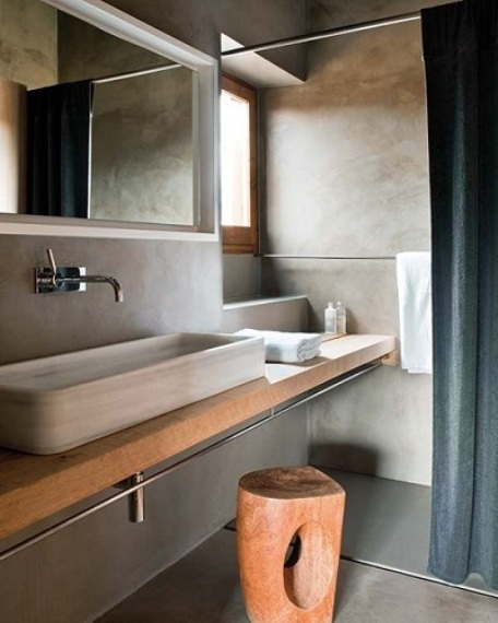 Make your bathroom bigger on the inside pivotech for Narrow bathroom designs