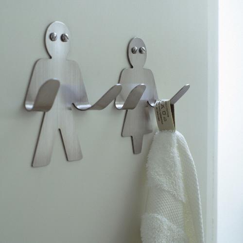 Make your bathroom bigger on the inside pivotech for Bathroom hooks