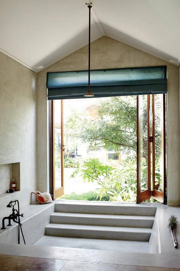 Pivotech indoor outdoor bathroom