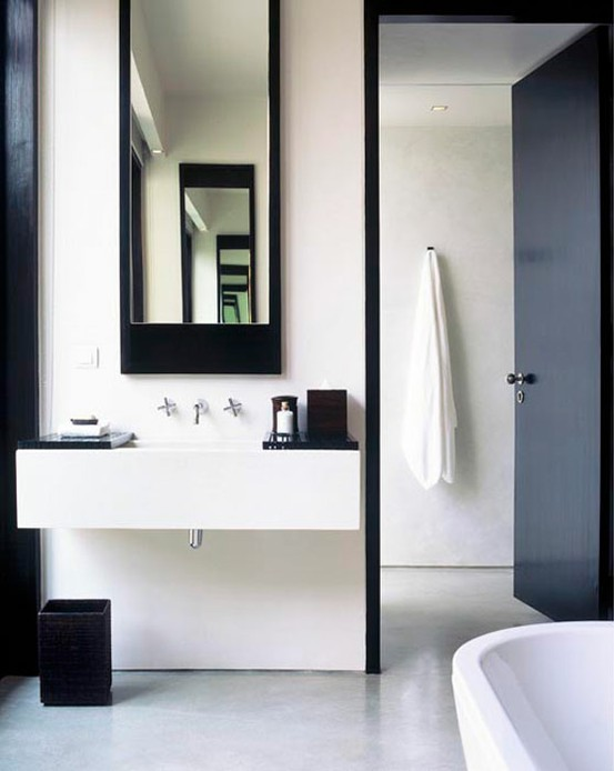 pivotech minimalist design - Minimal Bathroom Designs
