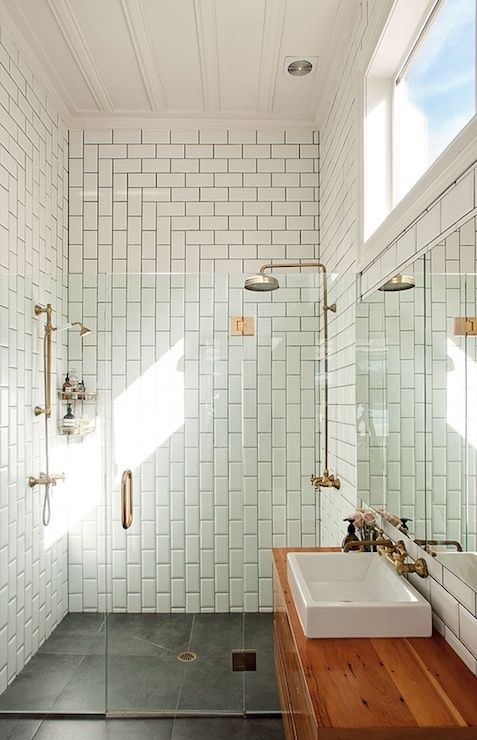 Self Cleaning Shower Screen