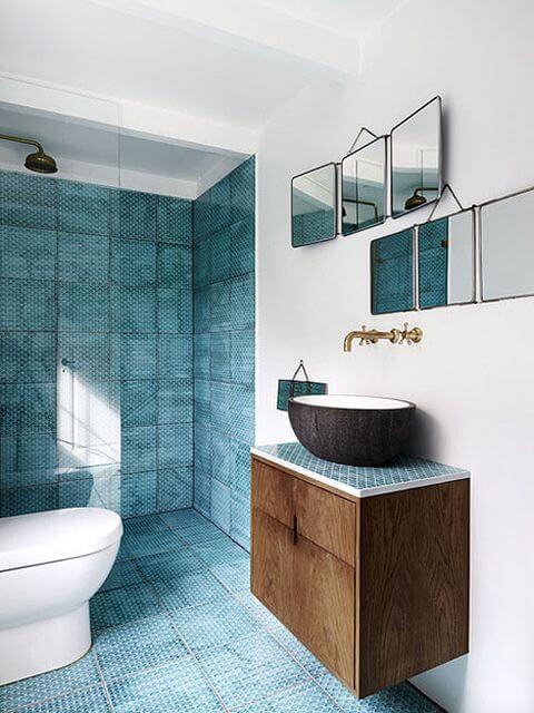 Pivotech & Bathroom colour trend: teal - Pivotech