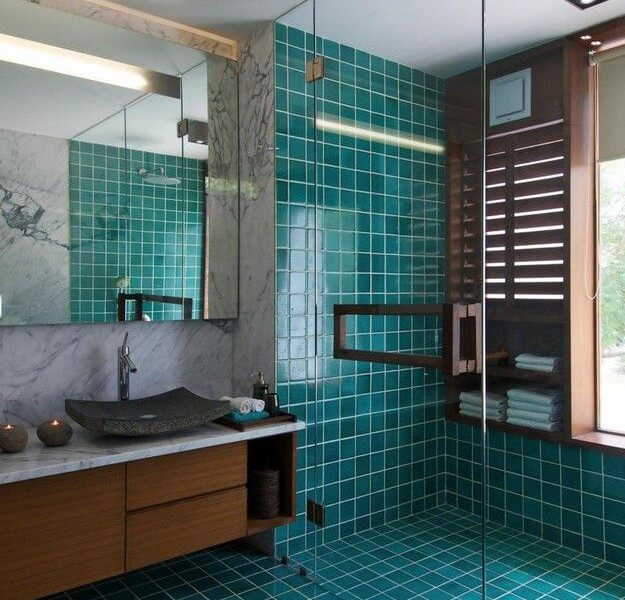 Bathroom Colour Trend Teal Pivotech