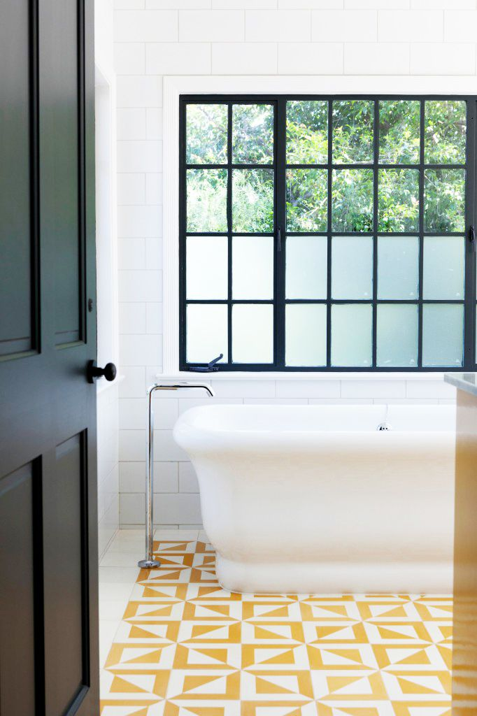 Pivotech for Bathroom ideas yellow tile