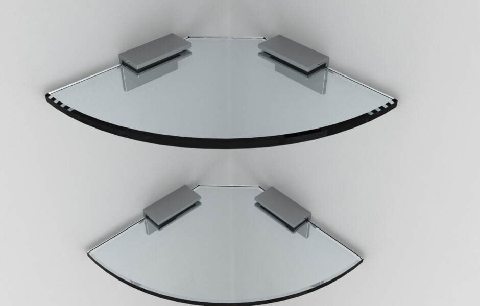 Glass shower storage systems that complement your Pivotech shower ...