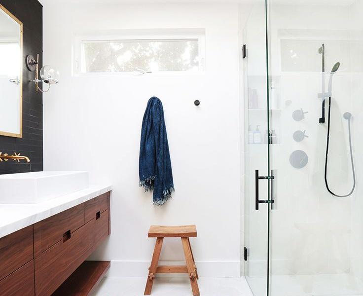 Modern Bohemian In The Bathroom