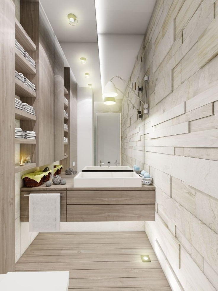 Bathroom design trend the neutral bathroom pivotech for Warm bathroom designs