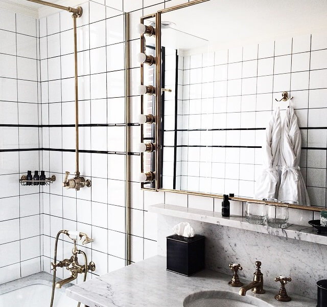 perfecting parisian modern in the bathroom - In The Bathroom
