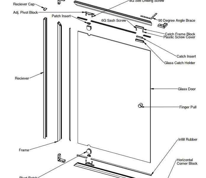 Shower Screen Pivotech