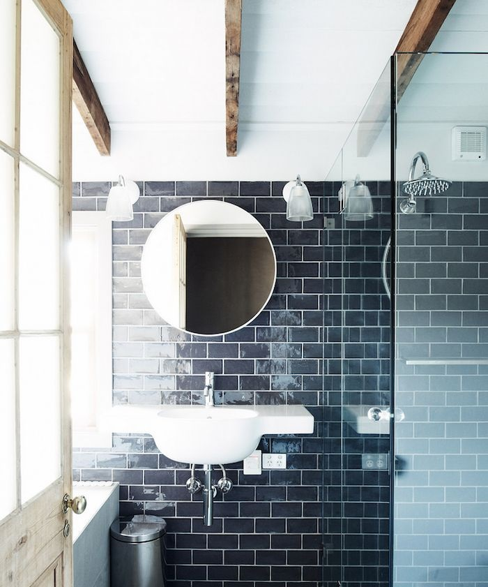 Navy bathrooms, the new black? - Pivotech on navy blue bathroom, navy and coral bedroom, navy and black jewelry, navy and black bedding, navy and black clothing,