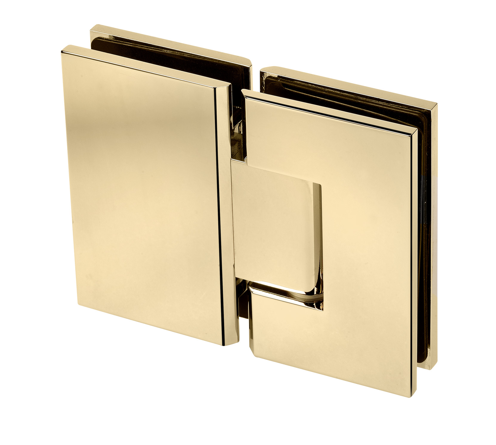 gold hinge for frameless shower