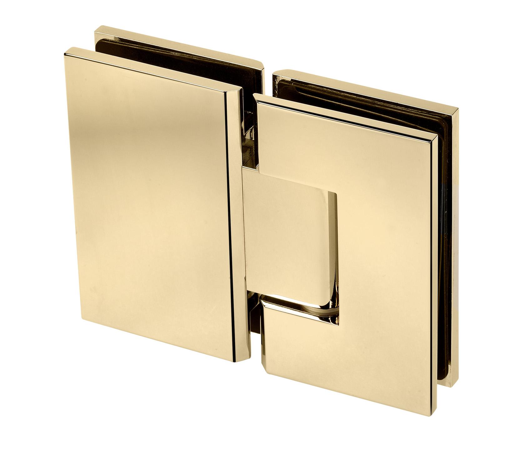 gold hinge for frameless shower