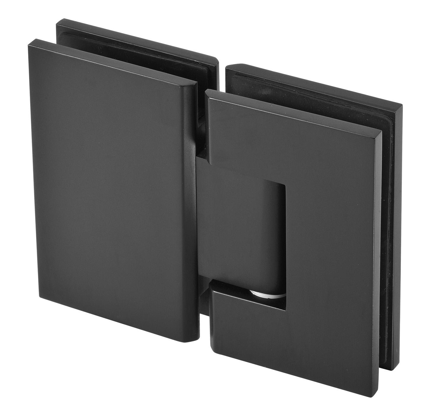 matt black hinge for frameless shower