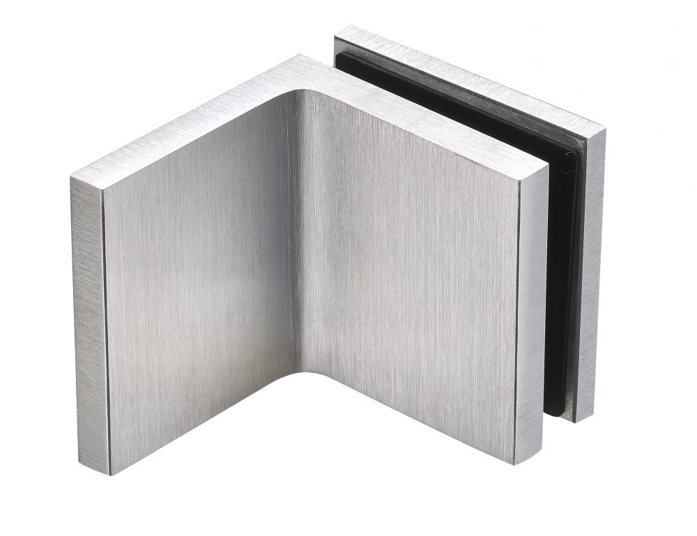 satin chrome finish for glass hardware