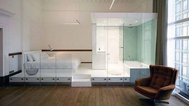Open-plan Bathrooms - Pivotech
