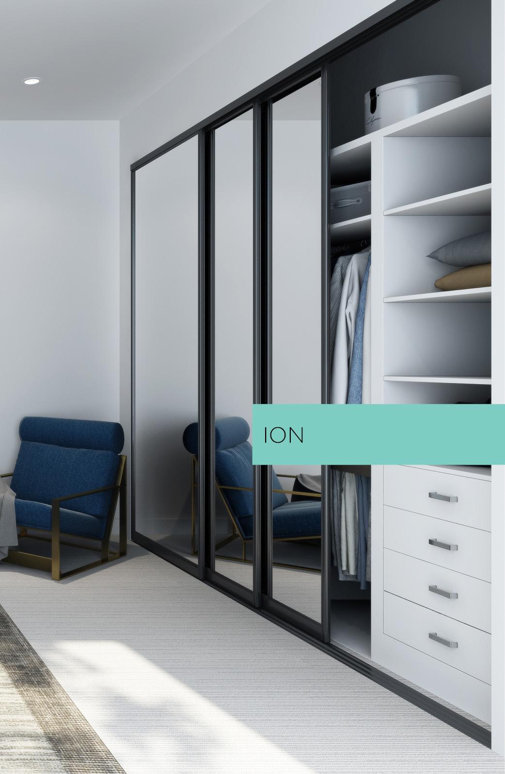 ION wardrobe door system