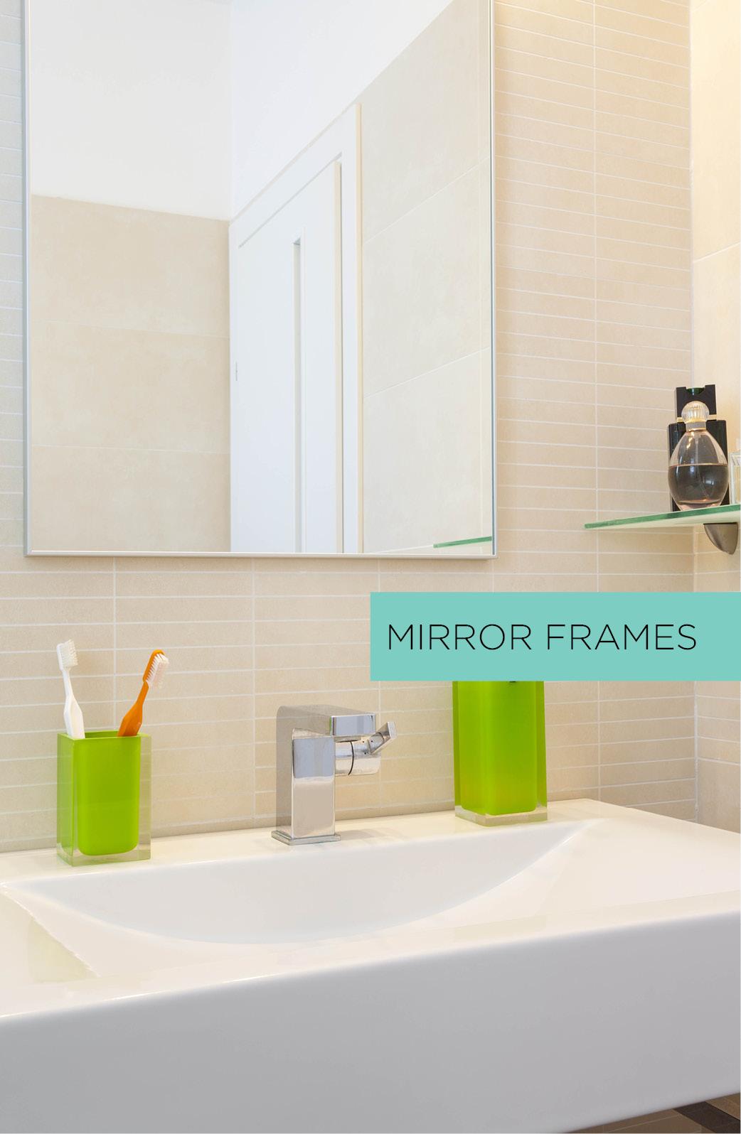 Mirror framing system