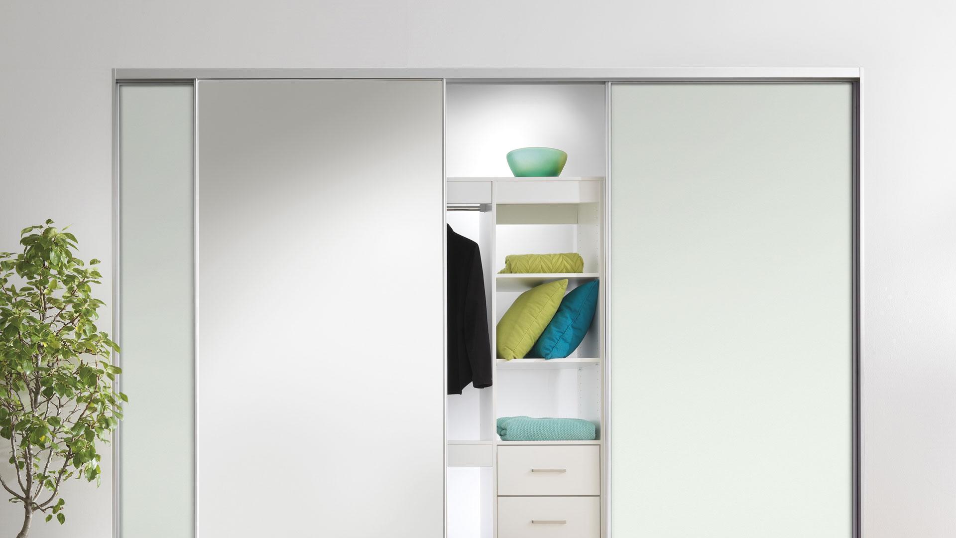 Deco Trim wardrobe door system